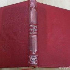 Libros de segunda mano: LAS INQUIETUDES DE SHANTIANDIA PIO BAROJA AGUILAR 1957 COL. CRISOL N.309. Lote 228510875