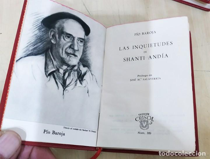 Libros de segunda mano: LAS INQUIETUDES DE SHANTIANDIA PIO BAROJA AGUILAR 1957 COL. CRISOL N.309 - Foto 2 - 228510875