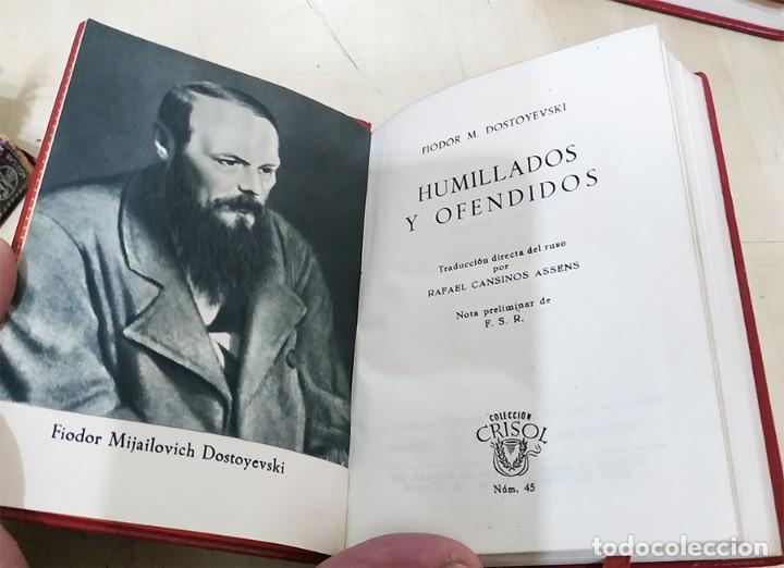 Libros de segunda mano: HUMILLADOS Y OFENDIDOS F. DOSTOYEWSKI AGUILAR 1951 COL. CRISOL N.45 - Foto 2 - 228511072
