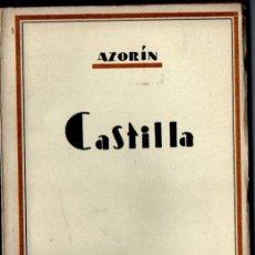 Libros de segunda mano: AZORÍN : CASTILLA (BIBLIOTECA NUEVA, 1943). Lote 228586585