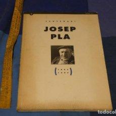 Libros de segunda mano: ARKANSAS ENVIO ECONOMICO JOSEP PLA CENTENARI 1897-1997 INSTITUCIO LLETRES CATALANES 1997. Lote 229572020