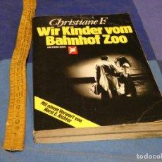 Libros de segunda mano: ARKANSAS ENVIO ECONOMICO CHRISTIANE F. WIR KINDER VOM BAHNHOF ZOO ED. EIN STERN-BUCH ALEMAN. Lote 229575875