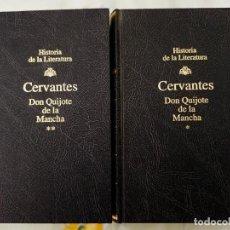 Libros de segunda mano: EL QUIJOTE COMPLETO 2 TOMOS PIEL RBA ILUSTRADO SIN OJEAR 1999. Lote 229808485