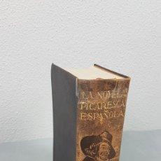 Libros de segunda mano: LA NOVELA PICARESCA ESPAÑOLA. DE. AGUILAR. PRIMERA EDICIÓN. AÑO 1943.. Lote 229809795