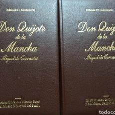 Libros de segunda mano: DON QUIJOTE DE LA MANCHA, EDICION IV CENTENARIO, ILUSTRAC. DE DORE Y MUSEO DEL PRADO ED. FOLIO 2005. Lote 230833930