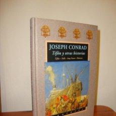 Libros de segunda mano: TIFÓN Y OTRAS HISTORIAS - JOSEPH CONRAD - VALDEMAR AVATARES, MUY BUEN ESTADO, PRIMERA ED.. Lote 243103210