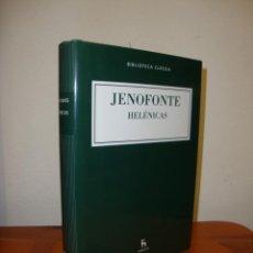 Libros de segunda mano: HELÉNICAS - JENOFONTE - BIBLIOTECA BÁSICA GREDOS, COMO NUEVO. Lote 231296250