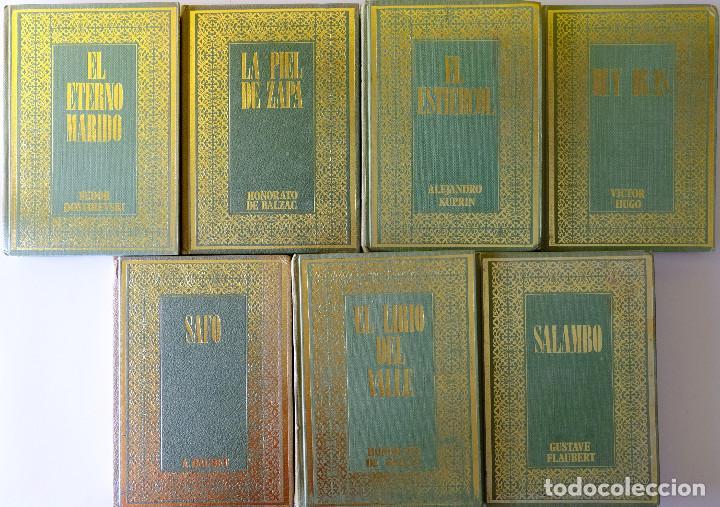 DOSTOIESWSKI. BALZAC. KUPRIN. VICTOR HUGO. A. DAUDET. GUSTAVE FLAUBERT - 7 CLÁSICOS UNIVERSALES (Libros de Segunda Mano (posteriores a 1936) - Literatura - Narrativa - Clásicos)