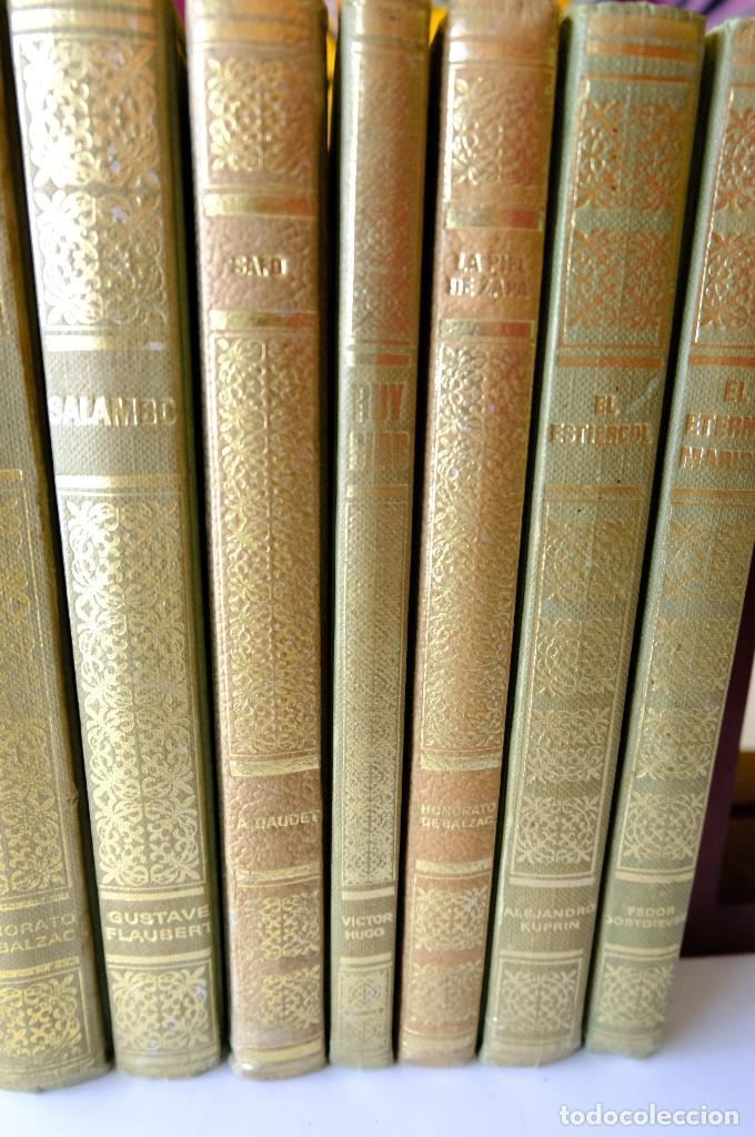 Libros de segunda mano: Dostoieswski. Balzac. Kuprin. Victor Hugo. A. Daudet. Gustave Flaubert - 7 clásicos universales - Foto 2 - 231574755