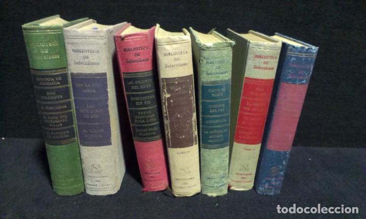 LOTE DE 7 LIBROS - BIBLIOTECA DE SELECCIONES - DIGEST (Libros de Segunda Mano (posteriores a 1936) - Literatura - Narrativa - Clásicos)