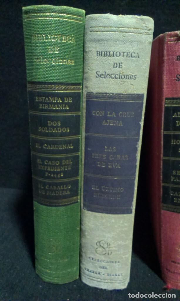 Libros de segunda mano: LOTE DE 7 LIBROS - BIBLIOTECA DE SELECCIONES - DIGEST - Foto 2 - 231743245