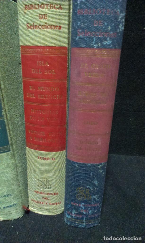 Libros de segunda mano: LOTE DE 7 LIBROS - BIBLIOTECA DE SELECCIONES - DIGEST - Foto 4 - 231743245