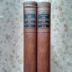 Libros de segunda mano: DON QUIJOTE - CERVANTES - EDICIÓN MILLARES CARLO Y DORÉ - UTEHA, MÉJICO, 1956 - MEDIA PIEL + REGALO. Lote 232443050