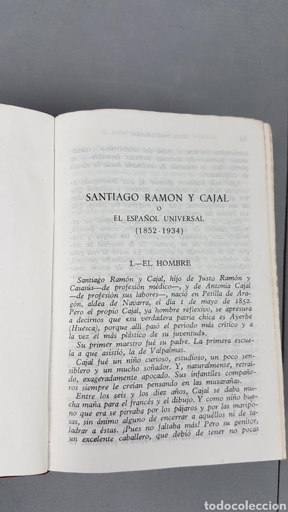 Libros de segunda mano: RAMON Y CAJAL OBRAS LITERARIAS COMPLETAS AGUILAR 1947. PRIMERA EDICIÓN - Foto 9 - 232601250