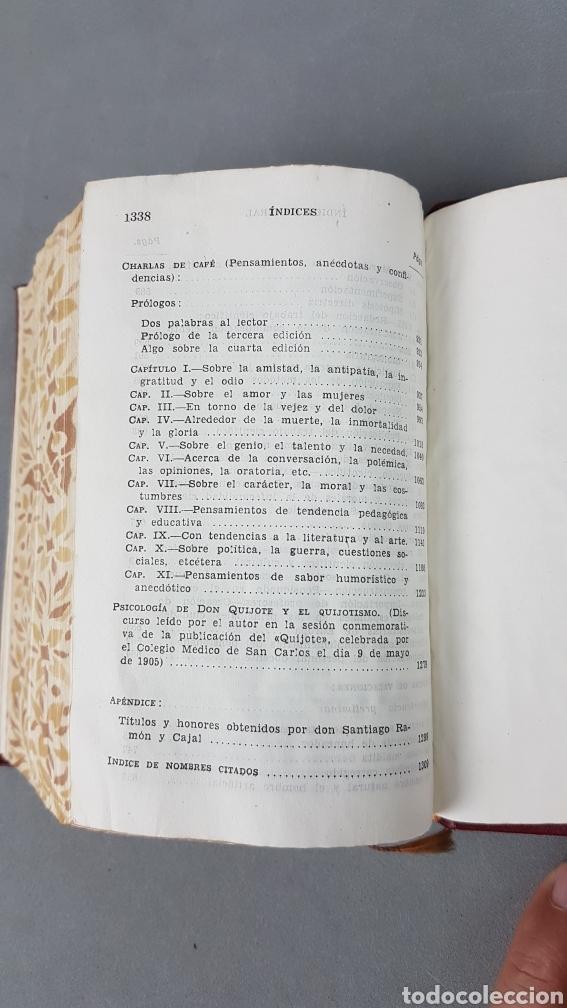 Libros de segunda mano: RAMON Y CAJAL OBRAS LITERARIAS COMPLETAS AGUILAR 1947. PRIMERA EDICIÓN - Foto 11 - 232601250