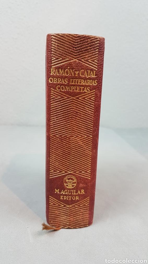 RAMON Y CAJAL OBRAS LITERARIAS COMPLETAS AGUILAR 1947. PRIMERA EDICIÓN (Libros de Segunda Mano (posteriores a 1936) - Literatura - Narrativa - Clásicos)