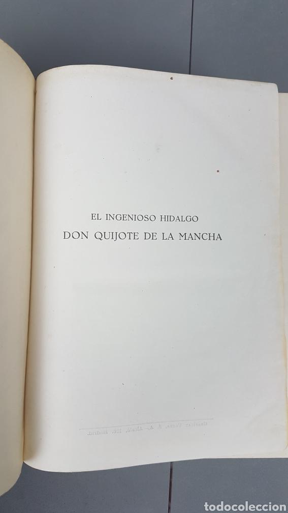 Libros de segunda mano: Libro de Don quijote de la Mancha. EdicionesCastilla,Madrid. Año 1947 - Foto 5 - 232797905