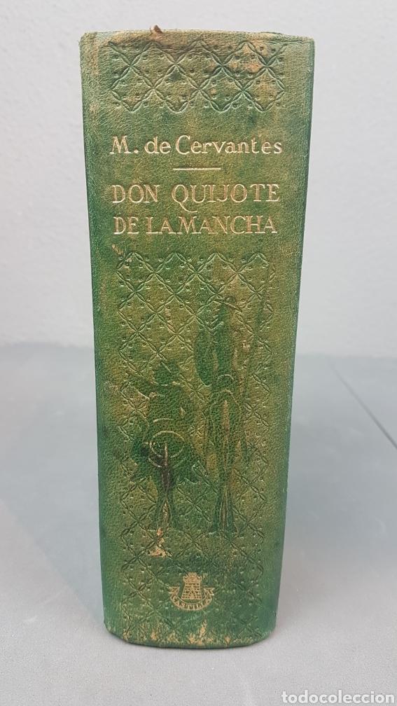 LIBRO DE DON QUIJOTE DE LA MANCHA. EDICIONESCASTILLA,MADRID. AÑO 1947 (Libros de Segunda Mano (posteriores a 1936) - Literatura - Narrativa - Clásicos)