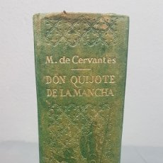 Libros de segunda mano: LIBRO DE DON QUIJOTE DE LA MANCHA. EDICIONESCASTILLA,MADRID. AÑO 1947. Lote 232797905