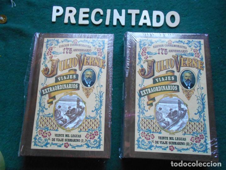 EDICIÓN CONMEMORATIVA 175 ANIVERSARIO JULIO VERNE PRECINTADO 20 MIL LEGUAS DE VIAJE SUBMARINO DOS (Libros de Segunda Mano (posteriores a 1936) - Literatura - Narrativa - Clásicos)