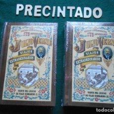 Libros de segunda mano: EDICIÓN CONMEMORATIVA 175 ANIVERSARIO JULIO VERNE PRECINTADO 20 MIL LEGUAS DE VIAJE SUBMARINO DOS. Lote 233113860