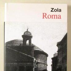 """Livros em segunda mão: """"ZOLA, EMILE"""" - """"ROMA - BARCELONA 2009"""". Lote 233213300"""