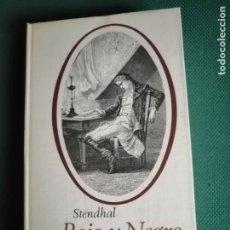 Libros de segunda mano: ROJO Y NEGRO (STENDHAL) CÍRCULO DE LECTORES 1965. Lote 233245710