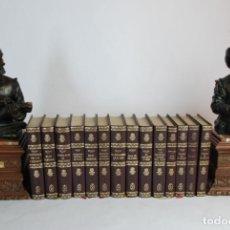 Libros de segunda mano: VICTOR HUGO. OBRAS. 14 TOMOS. TEATRO, NOVELAS, ETC. LORENZANA. BARCELONA. 1969.. Lote 233589510