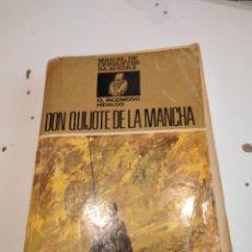 Libros de segunda mano: M-3 LIBRO LIBRO DON QUIJOTE DE LA MANCHA - - CERVANTES - ED. MOLINO. Lote 233660305