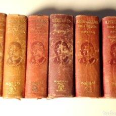 Libros de segunda mano: COLECCIÓN COMPLETA DE OBRAS COMPLETAS Y NOVELAS DE B. PÉREZ GALDÓS. M. AGUILAR 1942. Lote 233870375