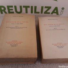 Libros de segunda mano: DON QUIJOTE DE LA MANCHA. FACSIMIL DE LA PRIMERA EDICION. 2 TOMOS. 1968.. Lote 235265750