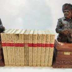 Libros de segunda mano: LOTE DE 12 OBRAS DE LOS CLÁSICOS CASTELLANOS. NOVELAS, POESÍA, TEATRO, ETC. 1954-1969. ESPASA-CALPE.. Lote 235452840
