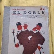 Libros de segunda mano: EL DOBLE (F. DOSTOIEVSKI) - OBRA COMPLETA, NOVELA - REVISTA LITERARIA Nº925 - 1949. Lote 235573135