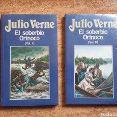 Libros de segunda mano: EL SOBERBIO ORINÓCO JULIO VERNE Nº 70 Y 71 - ORBIS 1986 - NUEVO PRECINTADO SIN USAR. Lote 236210700
