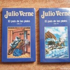 Libros de segunda mano: EL PAÍS DE LAS PIELES JULIO VERNE Nº 36 Y 37 - ORBIS 1986 - NUEVO PRECINTADO SIN USAR. Lote 236212075