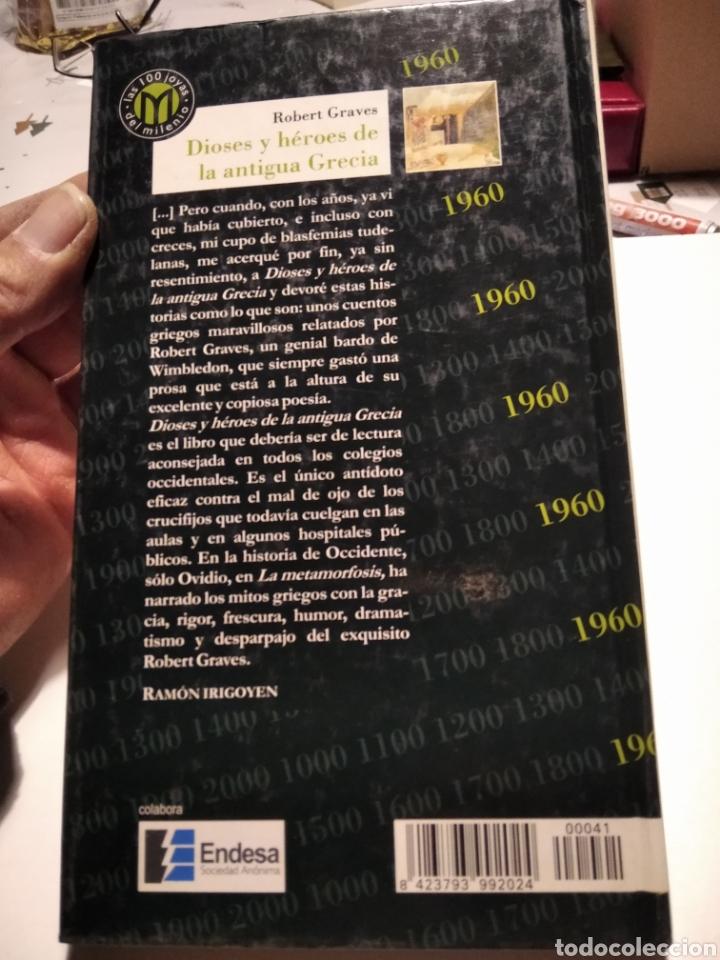 Libros de segunda mano: Dioses y héroes de la antigua Grecia - Foto 5 - 236628300