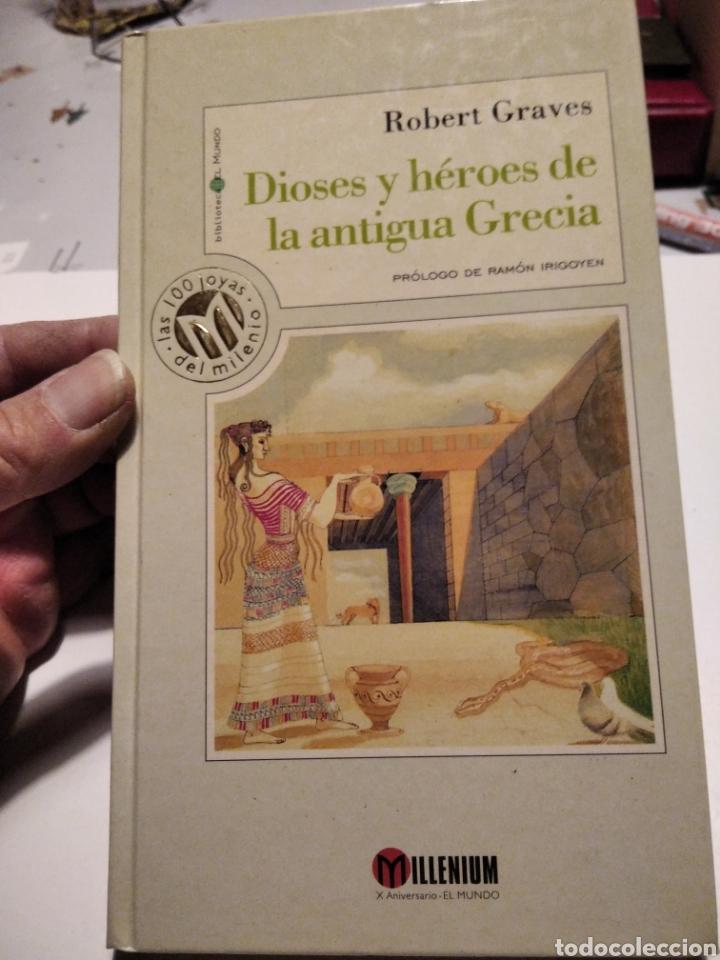 DIOSES Y HÉROES DE LA ANTIGUA GRECIA (Libros de Segunda Mano (posteriores a 1936) - Literatura - Narrativa - Clásicos)