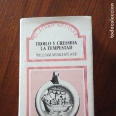 Libros de segunda mano: TROILO Y CRESSIDA Y LA TEMPESTAD -WILLIAM SHAKESPEARE. AGUILAR Nº 36.. Lote 236634300