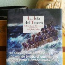 Libros de segunda mano: LA ISLA DEL TESORO - ROBERT LOUIS STEVENSON [ILUSTRADO] (REINO DE CORDELIA, 1ªED. 2016). Lote 236883475