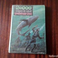 Libros de segunda mano: LIBRO 20000 LEGUAS DE VIAJE SUBMARINO JULIO VERNE COLECCIÓN AMABLE. Lote 236896095