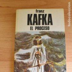 Libros de segunda mano: FRANZ KAFKA- EL PROCESO-. Lote 236903485