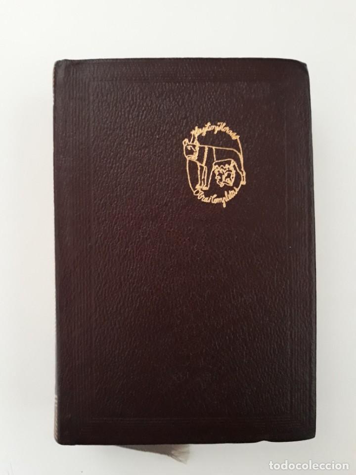 VIRGILIO / HORACIO. OBRAS COMPLETAS. EDITORIAL AGUILAR. 5ª EDICIÓN. MADRID, 1967. (Libros de Segunda Mano (posteriores a 1936) - Literatura - Narrativa - Clásicos)