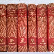 Libros de segunda mano: AZORIN - AGUILAR - OBRAS COMPLETAS - 8 TOMOS - JOYA. Lote 237344255