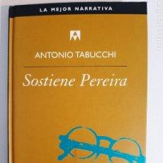 Libros de segunda mano: SOSTIENE PEREIRA. Lote 237389005