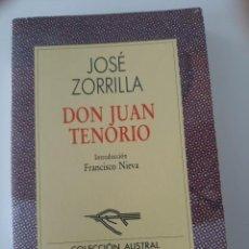 Libros de segunda mano: DON JUAN TENORIO. JOSÉ ZORRILLA. ESPASA CALPE. Lote 237835315