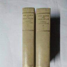 Libros de segunda mano: DON RAMÓN DEL VALLE-INCLÁN - OBRAS ESCOGIDAS I II - DOS TOMOS - 2ª Y 5ª EDICIÓN, 1974 - AGUILAR. Lote 237847410