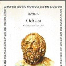 Libros de segunda mano: HOMERO. ODISEA. CATEDRA. Lote 267013604