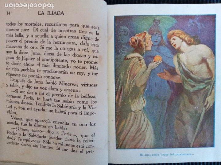 Libros de segunda mano: LA ILIADA O EL SITIO DE TROYA.COLECCION ARALUCE. - Foto 4 - 239369730