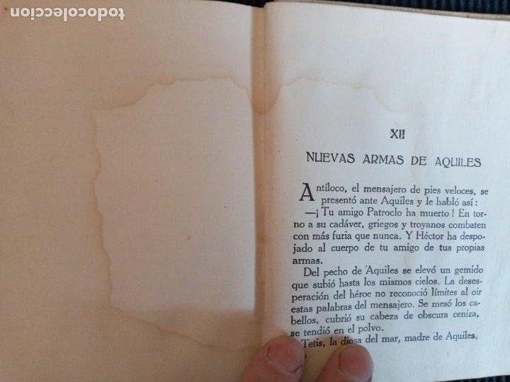 Libros de segunda mano: LA ILIADA O EL SITIO DE TROYA.COLECCION ARALUCE. - Foto 5 - 239369730