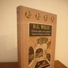 Libros de segunda mano: H.G. WELLS: EL BACILO ROBADO Y OTROS INCIDENTES/ CUENTOS DEL ESPACIO Y DEL TIEMPO (VALDEMAR AVATARES. Lote 239860680